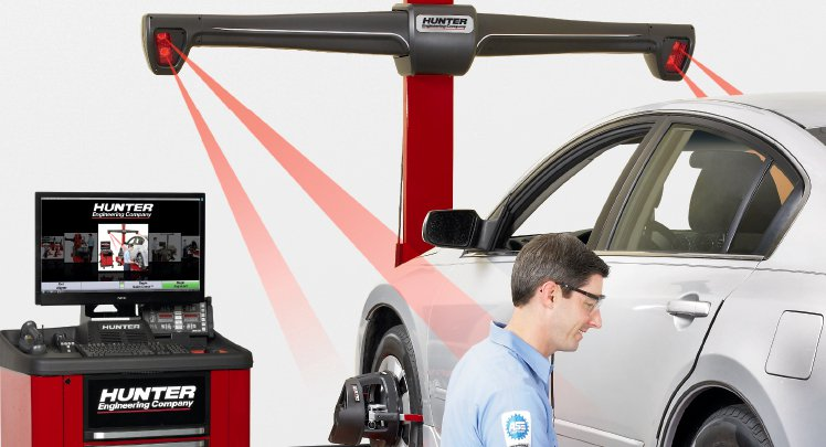 Two And Four Wheel Alignment Brake Check