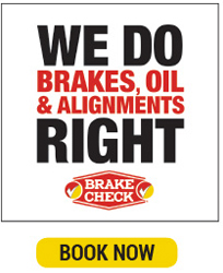 Brake Check, Texa's one-stop shop for brakes repair, oil changes and alignments