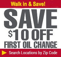 $10 off first oil change and every fourth oil change free even on synthetic oil and diesel