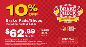 Brake Check Coupon Brakes